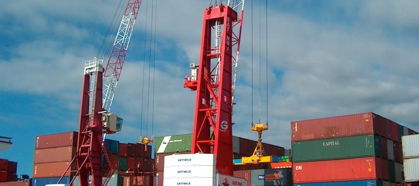 Une nouvelle grue portuaire GOTTWALD